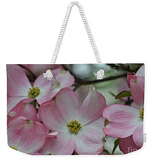 Pink Dogwood Tree Weekender Tote Bag