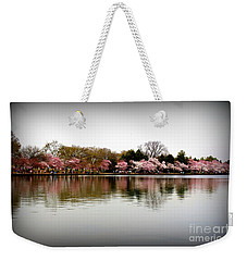 Pink Echoes Weekender Tote Bag by Patti Whitten