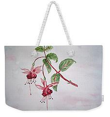 Pink Fuchsia's  Weekender Tote Bag