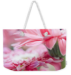 Pink Gerber Daisy - Awakening Weekender Tote Bag