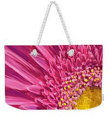 Pink Gerbera Weekender Tote Bag
