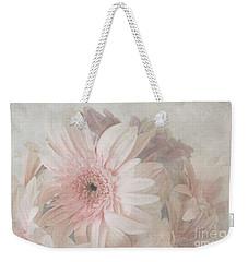 Pink Gerberas Weekender Tote Bag by Cindy Garber Iverson