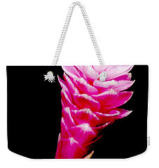 Pink Ginger Lilly Weekender Tote Bag