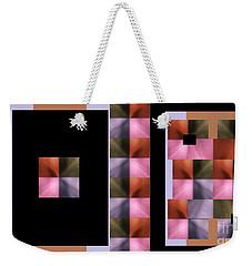 Pink Glow Weekender Tote Bag