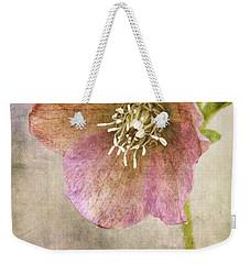Pink Hellebore Weekender Tote Bag
