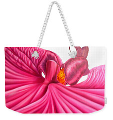 Pink Lady Weekender Tote Bag by Darren Robinson