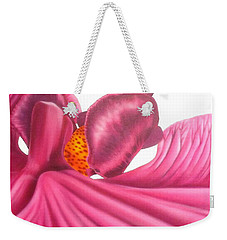 Pink Lady Square Dance Weekender Tote Bag by Darren Robinson