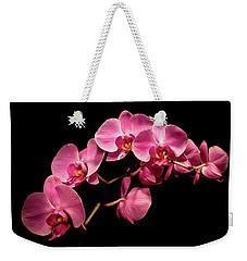 Pink Orchids 3 Weekender Tote Bag