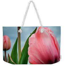 Weekender Tote Bag featuring the photograph Pink Passion by Athena Mckinzie
