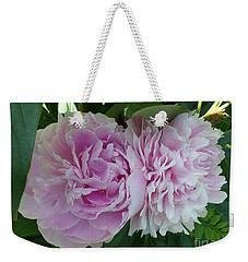 Pink Peonies 2 Weekender Tote Bag