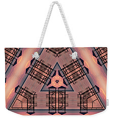 Pink Pier Kaleidoscope One Weekender Tote Bag
