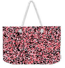 Pink Pixels Weekender Tote Bag