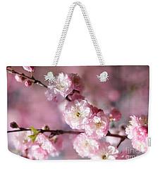 Pink Plum Branch 1 Weekender Tote Bag