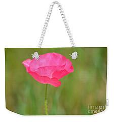 Pink Poppy Weekender Tote Bag by P S