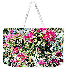 Pink Profusion Weekender Tote Bag by Ellen O'Reilly