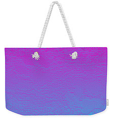 Pink Purple Blue Weekender Tote Bag