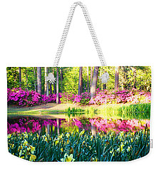 Pink Reflections By Jan Marvin Weekender Tote Bag