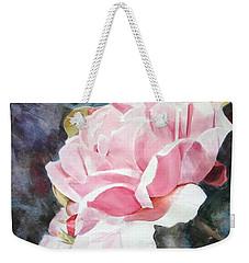Pink Rose Caroline Weekender Tote Bag