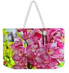 Pink Shadows Weekender Tote Bag