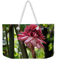 Pink Torch Ginger Weekender Tote Bag