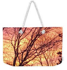 Pink Twilight Weekender Tote Bag