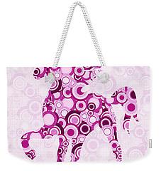 Pink Unicorn - Animal Art Weekender Tote Bag by Anastasiya Malakhova
