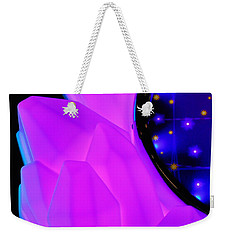 Pink Window To The Stars Weekender Tote Bag