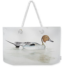 Pintail Duck Weekender Tote Bag by Ele Grafton