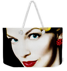 Pinup Girl Weekender Tote Bag by Diane Diederich