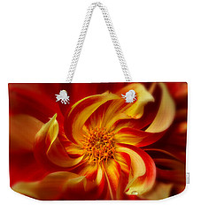 Pinwheel Weekender Tote Bag by Mary Jo Allen