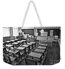 Pioneer Classroom Black And White Weekender Tote Bag