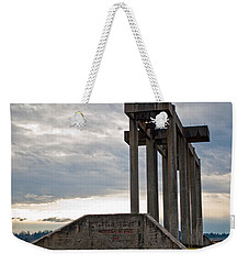 Weekender Tote Bag featuring the photograph Pioneer Sand And Gravel Pit by Tikvah's Hope