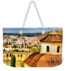 Pious Witness To The Passage Of Time Weekender Tote Bag