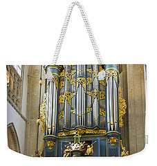 Pipe Organ In Breda Grote Kerk Weekender Tote Bag