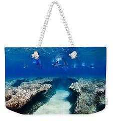 Pipeline's Hungry Reef Weekender Tote Bag