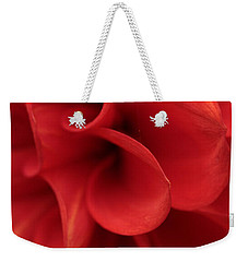 Scarlet Pipes Weekender Tote Bag by Connie Handscomb