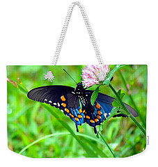 Pipevine Swallowtail Hanging On Weekender Tote Bag