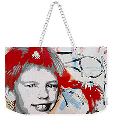 Pippi Longstocking  Weekender Tote Bag