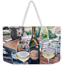 Pippin Hill Picnic Weekender Tote Bag by Donna Tuten