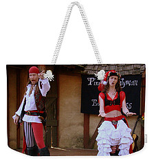Pirate Shantyman And Bonnie Lass Weekender Tote Bag