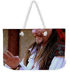 Pirate Shantyman Weekender Tote Bag by Rodney Lee Williams