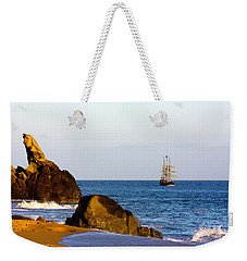 Pirate Ship In Cabo Weekender Tote Bag