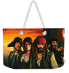 Pirates Of The Caribbean  Weekender Tote Bag
