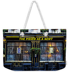 Pissed As A Newt Pub  Weekender Tote Bag
