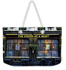 Pissed As A Newt Pub  Weekender Tote Bag by David Pyatt