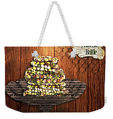 Pistachio Brittle Weekender Tote Bag