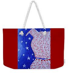 Pittie Love Weekender Tote Bag