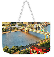 Pittsburgh Duquesne Incline Weekender Tote Bag
