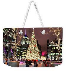 Pittsburgh Holiday Season 2 Weekender Tote Bag by Emmanuel Panagiotakis