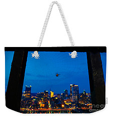 Pittsburgh Skyline At Night Weekender Tote Bag